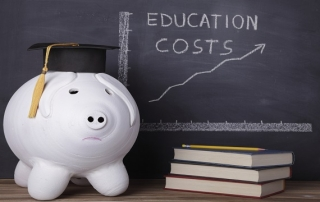 high cost of college investment