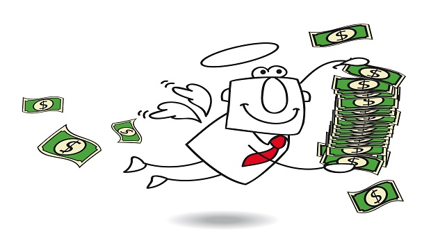 angel investing Typically, angel investors put up anywhere from $10,000 to $50,000 to back a young start-up, and can fund as many as 10 companies at any given time.